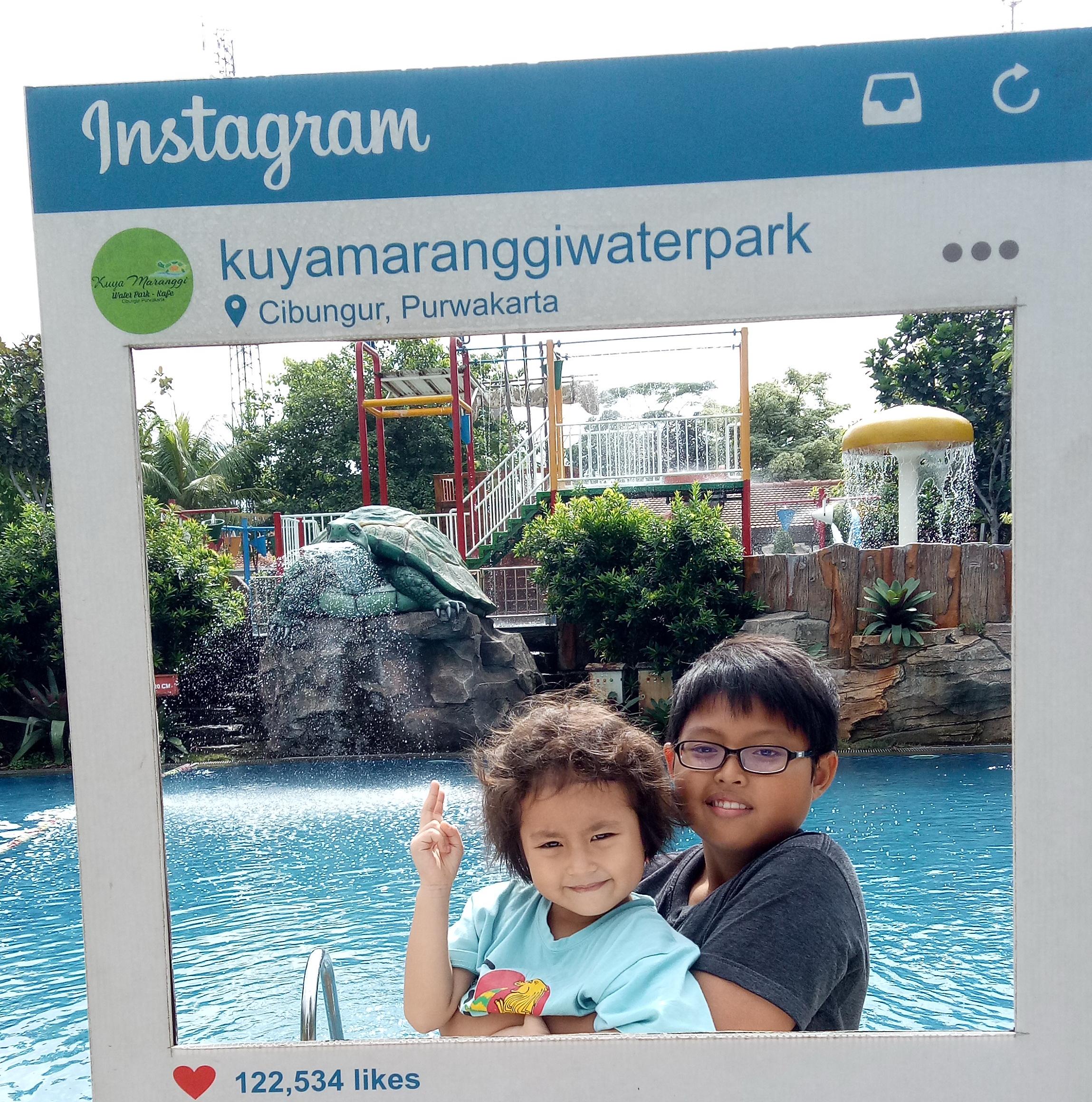 Wisata ke Waterpark di Purwakarta, 2-jan-2019