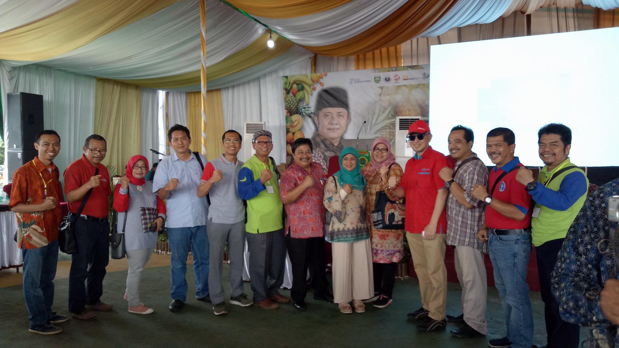 Kunjungan DPP HA ke DPD Palembang bersama Masyarakat Agrobisnis Agroindustri dan Gubernur Palembang