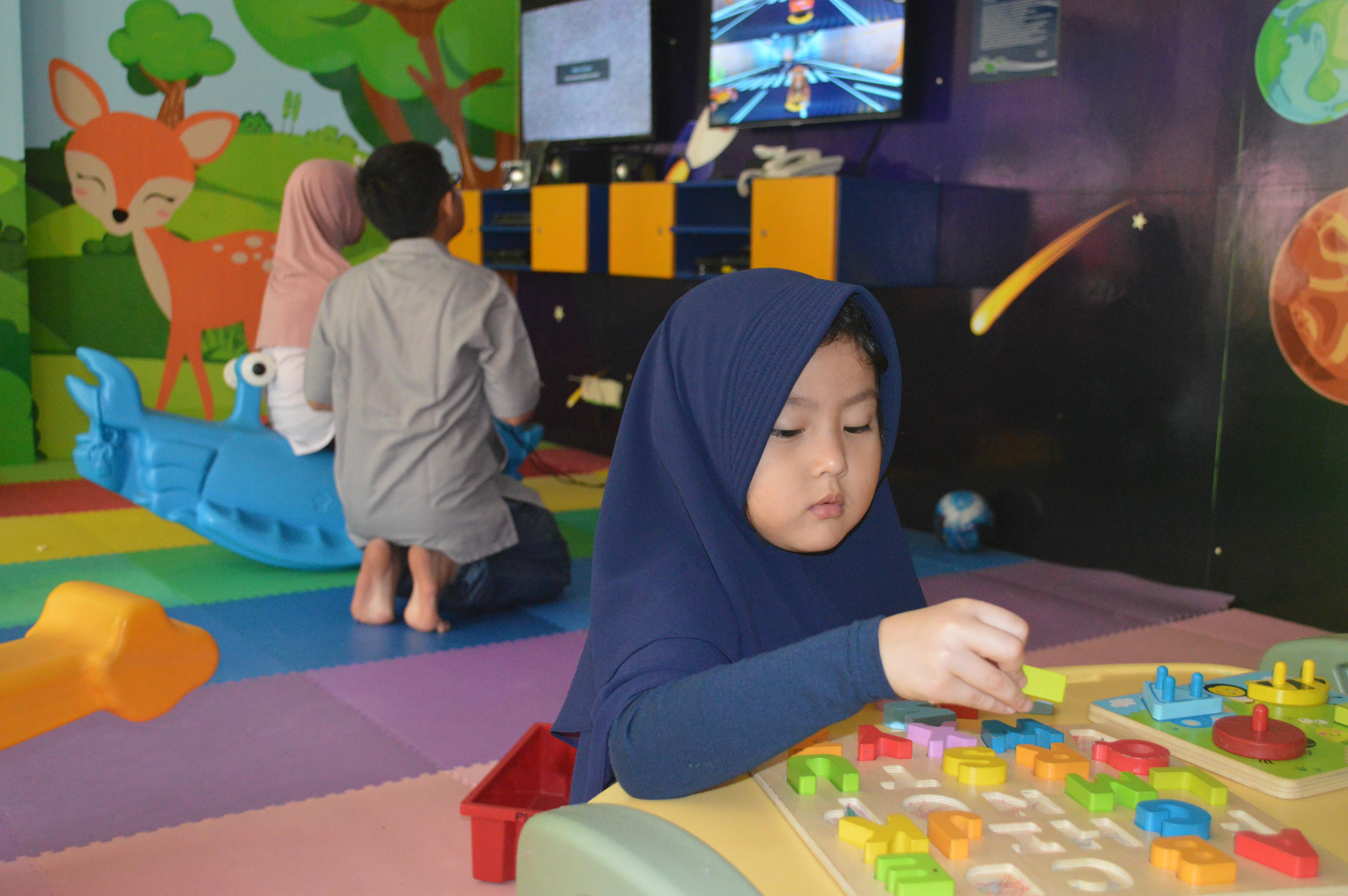 Allana dan dua kakaknya, Bogor 26 Okt 2019