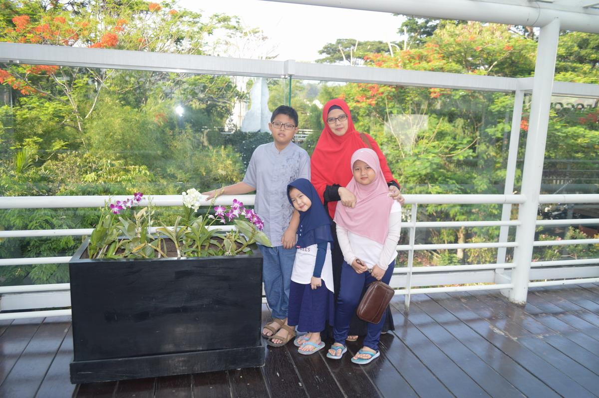Liburan sederhana bersama keluarga di Bogor